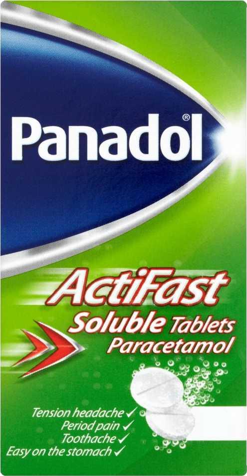 Panadol Actifast Soluble