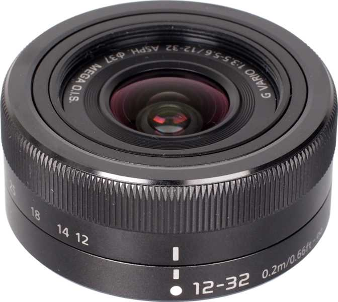 Panasonic Lumix G Vario 12-32mm F/3.5-5.6 ASPH