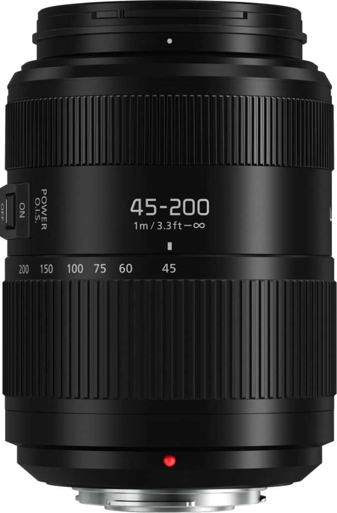 Panasonic Lumix G Vario 45-200mm f/4-5.6 II Power OIS