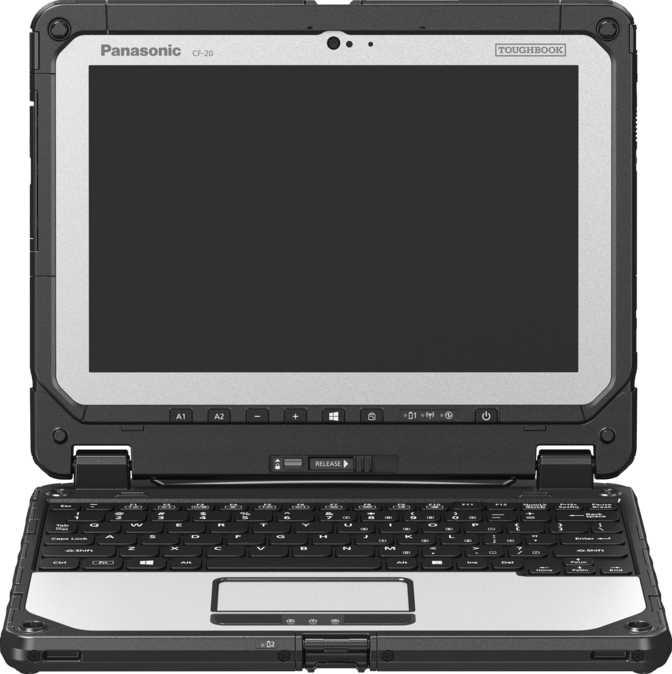 "Panasonic Toughbook CF-20 10.1"" Intel Core m5-6Y57 1.1GHz / 8GB / 128GB"