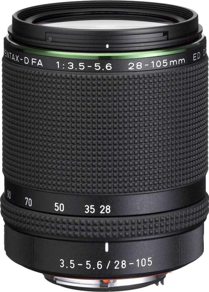 Pentax D FA 28-105mm HD f/3.5-5.6 ED DC WR