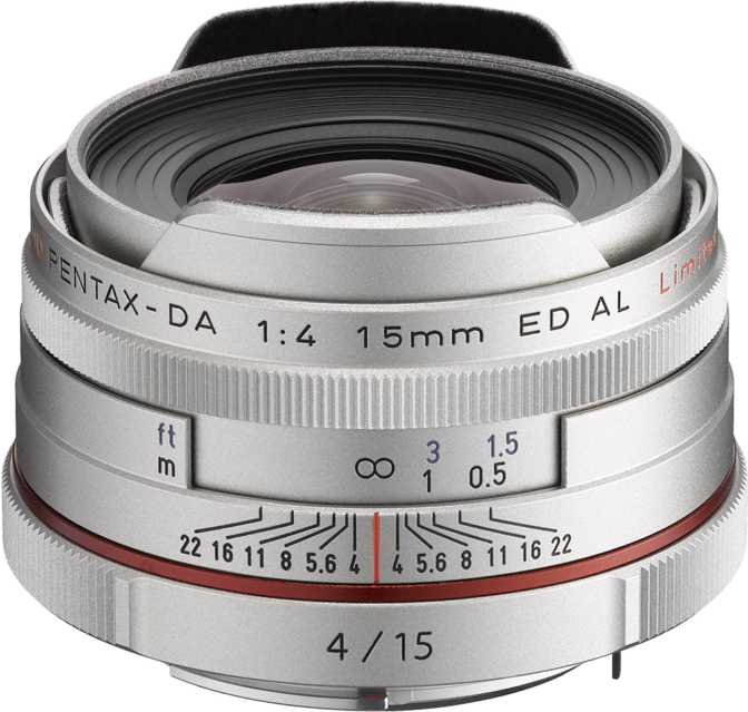Pentax HD DA 15mm F4 ED AL Limited