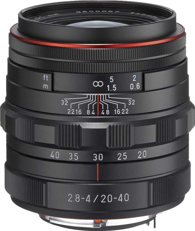 Pentax HD DA 20-40mm F2.8-4 ED Limited DC WR