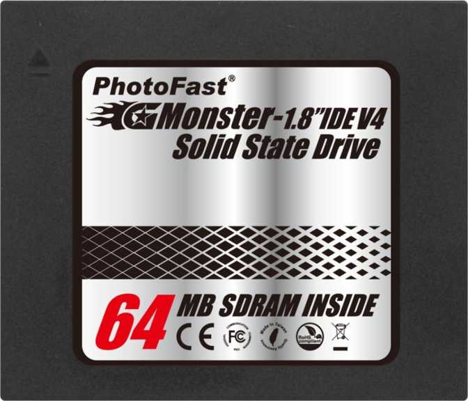 "PhotoFast GMonster IDE V4 1.8"" 32GB"