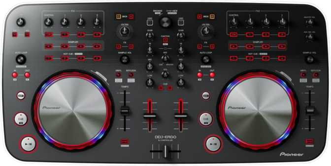 Pioneer DDJ-WeGO-V DJ System Windows 8
