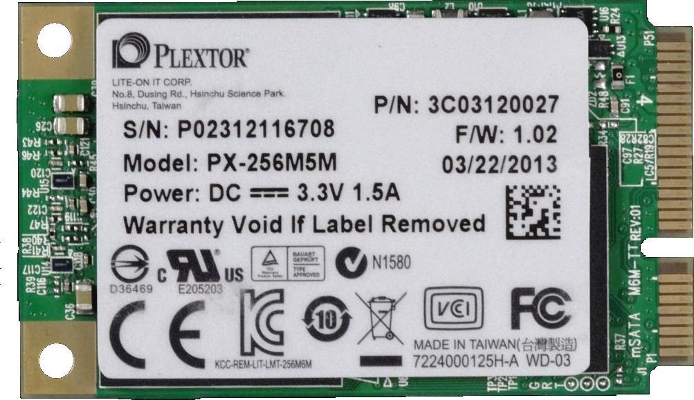 Plextor M5M 512GB