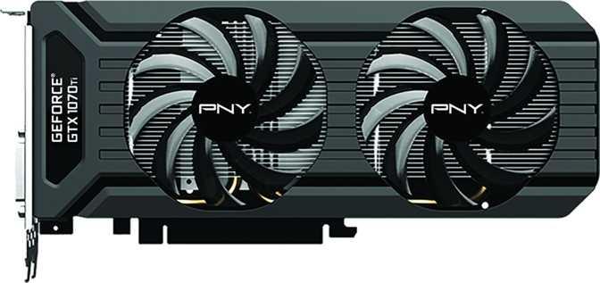 PNY GeForce GTX 1070 Ti