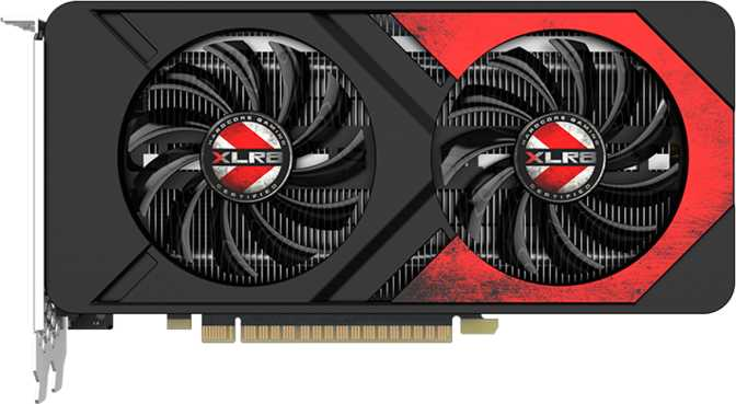 PNY GeForce XLR8 GTX 1050 Ti Gaming OC