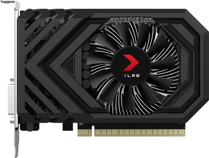 PNY GeForce XLR8 GTX 1650 Gaming OC