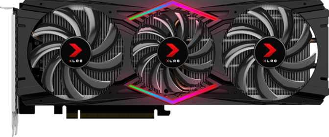 PNY GeForce XLR8 RTX 2080 Gaming OC Triple Fan