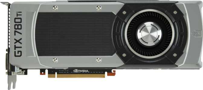 PNY XLR8 GeForce GTX 780 Ti Enthusiast Edition