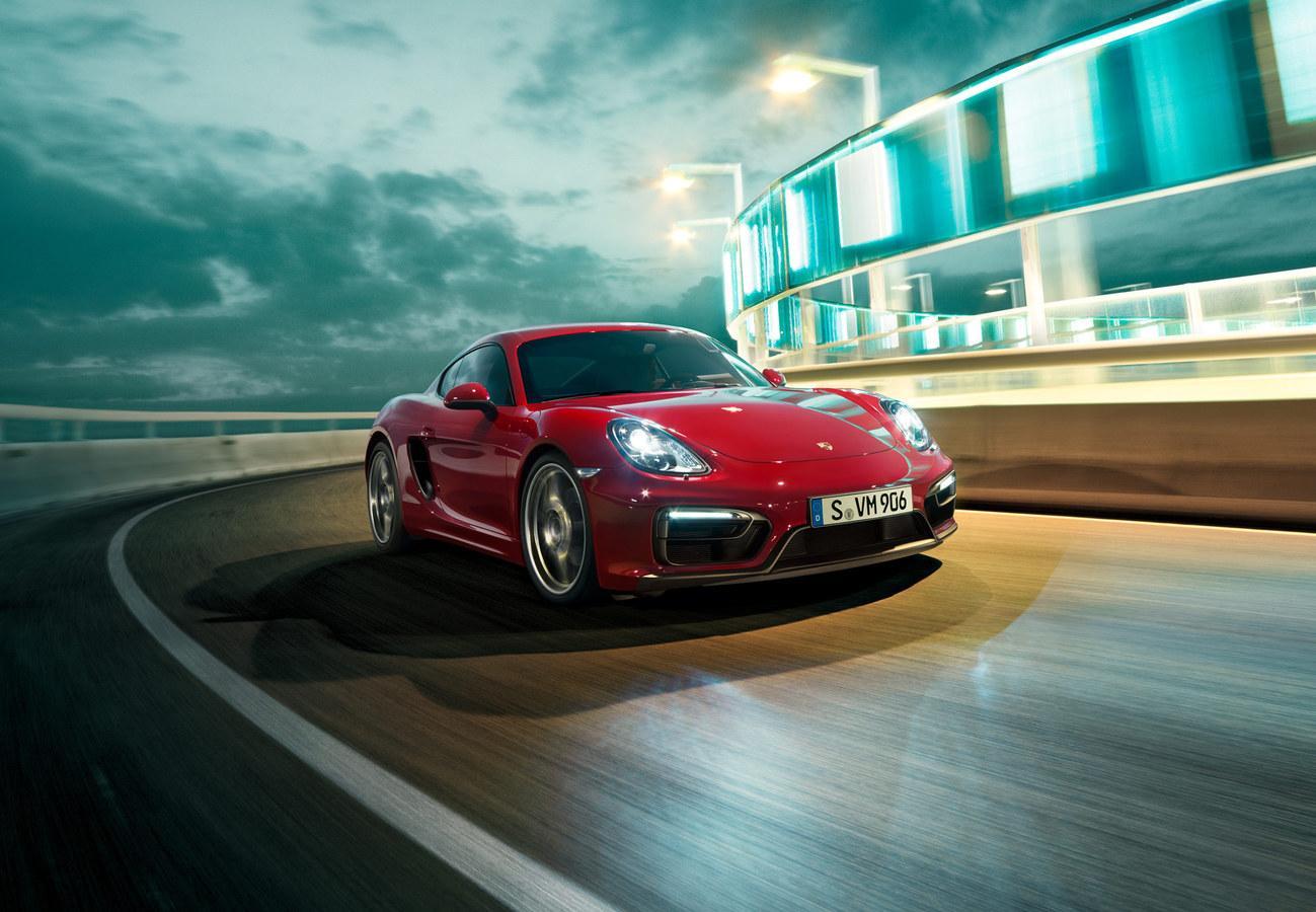 Porsche Cayman GTS (2015)