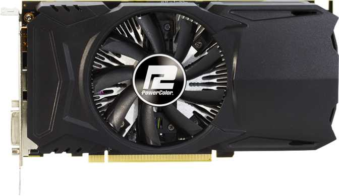 PowerColor Red Dragon Radeon RX 460 2GB