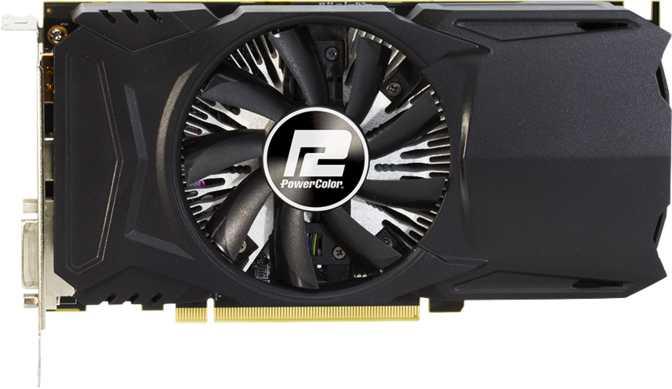 PowerColor Red Dragon Radeon RX 460 4GB