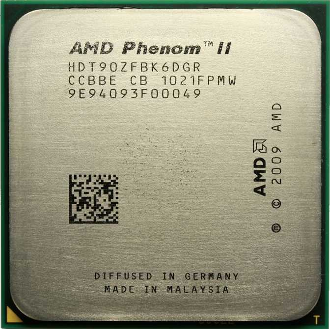 AMD AMD Phenom II X4 970