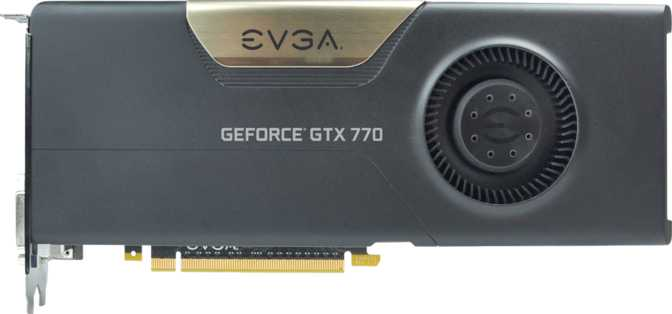 EVGA GeForce GTX 770 4GB w/ EVGA Cooler