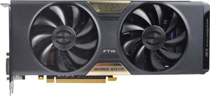 EVGA GeForce GTX 770 FTW 4GB w/ ACX Cooler