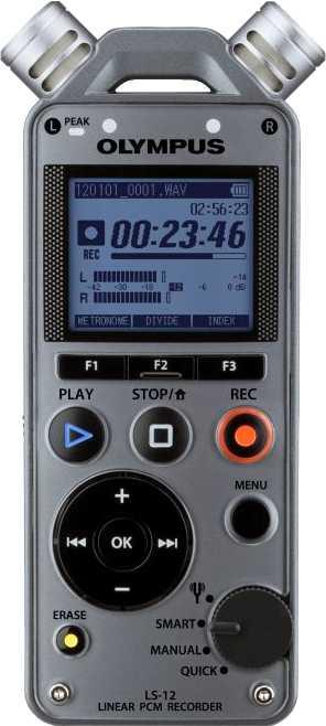 ≫ Olympus LS-12 vs Zoom H4n | Voice recorder comparison