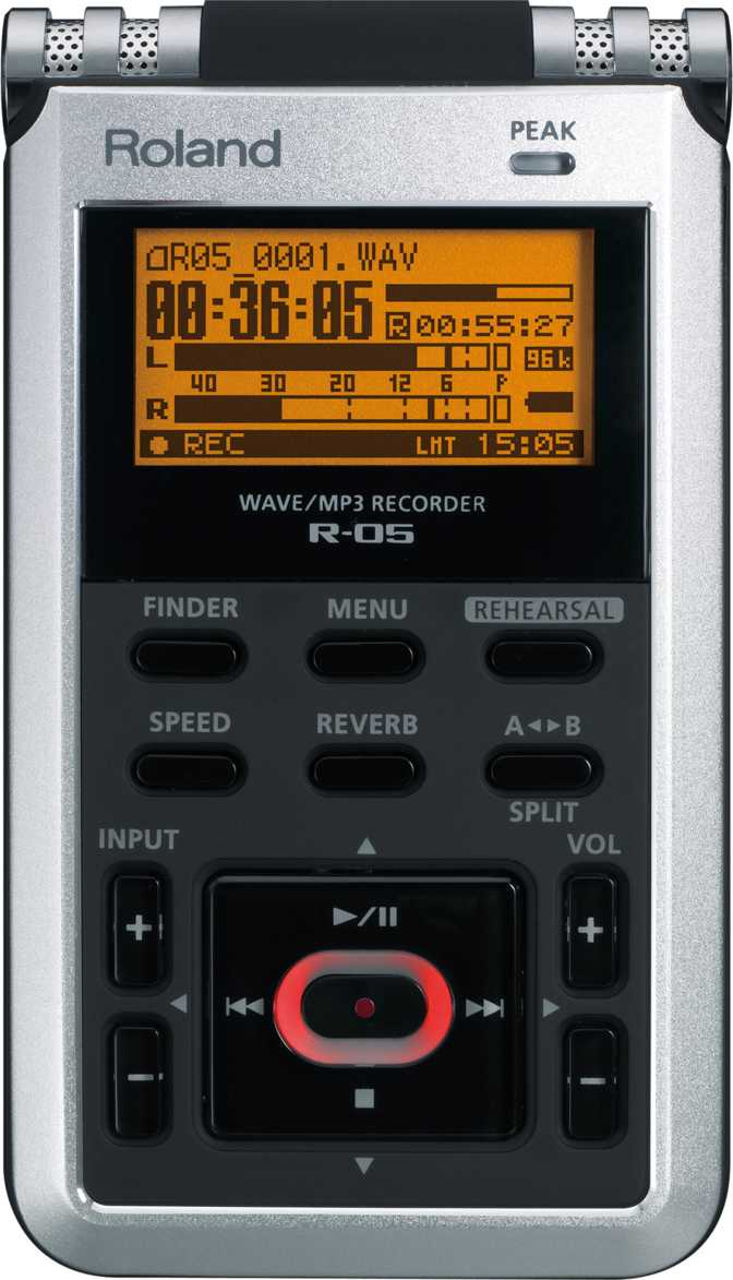 Roland WAVE/MP3 Recorder