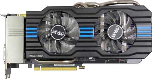 Asus GeForce Dragon GTX 660 Ti DirectCU II
