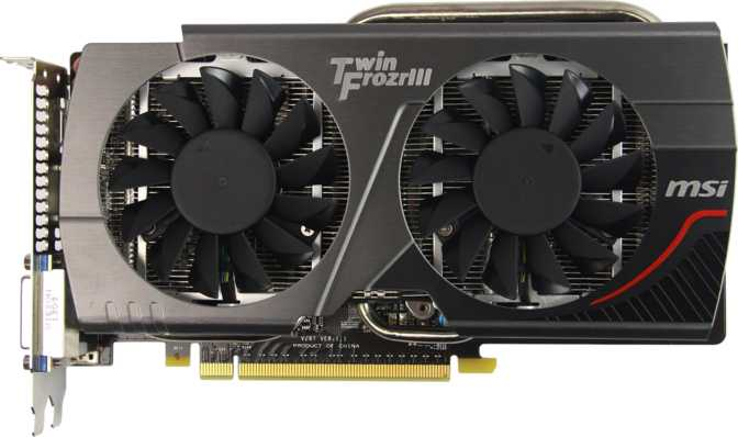 MSI GeForce GTX 650 Ti Boost Gaming OC