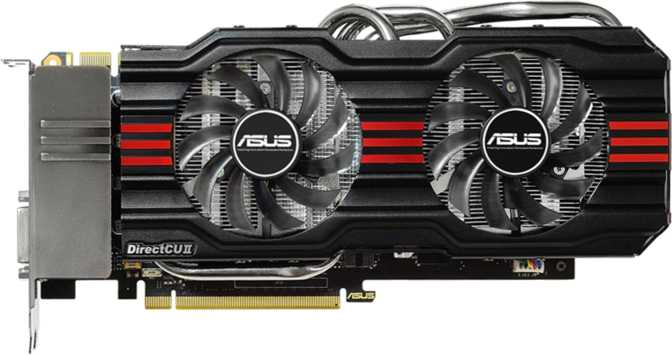 Asus GeForce GTX 660 Ti DirectCU II 3GB