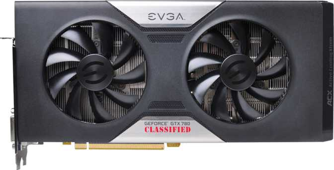 EVGA GeForce GTX 780 Classified w/ ACX Cooler