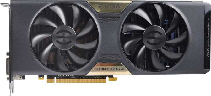 EVGA GeForce GTX 770 4GB w/ ACX Cooler