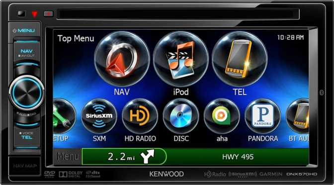 Kenwood DNX570HD