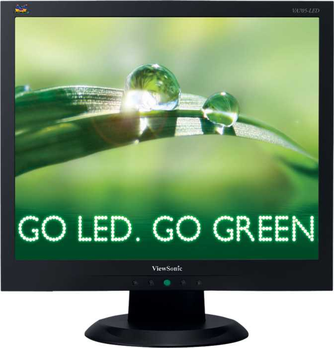 ViewSonic VA705 LED