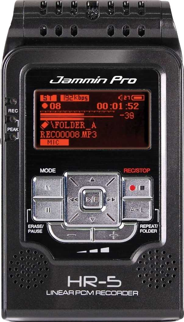 Jammin Pro STEREO Linear PCM Recorder