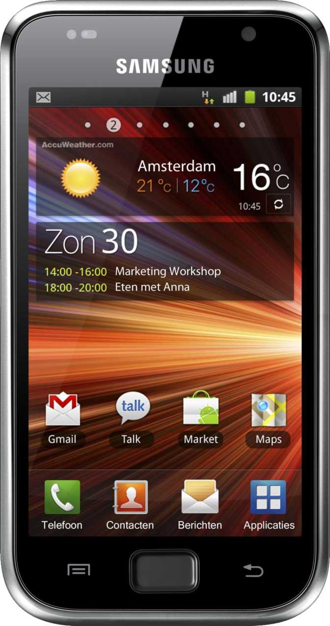 Samsung Galaxy I9001 S Plus