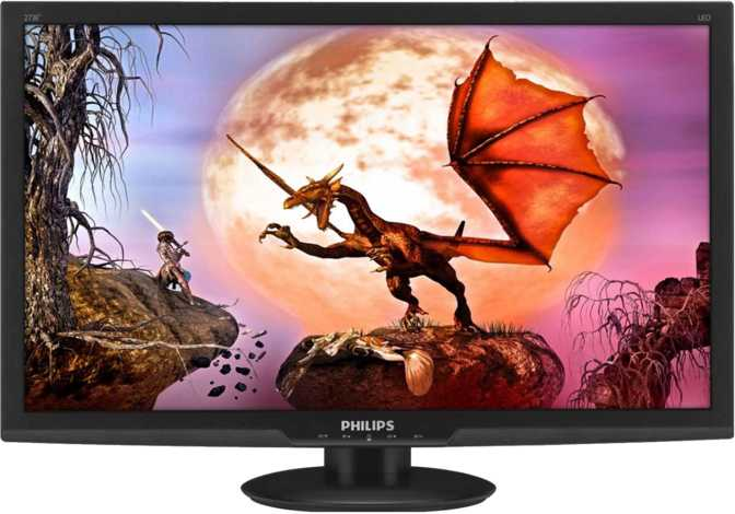 Philips E-line LCD Monitor