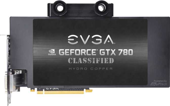 EVGA GeForce GTX 780 Classified Hydro Copper