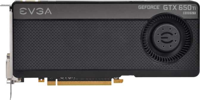 EVGA GeForce GTX 650 Ti Boost Superclocked 2GB