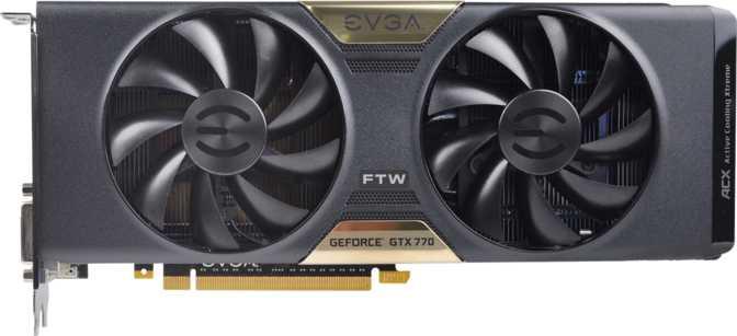 EVGA Geforce GTX 770 FTW w/ ACX Cooler