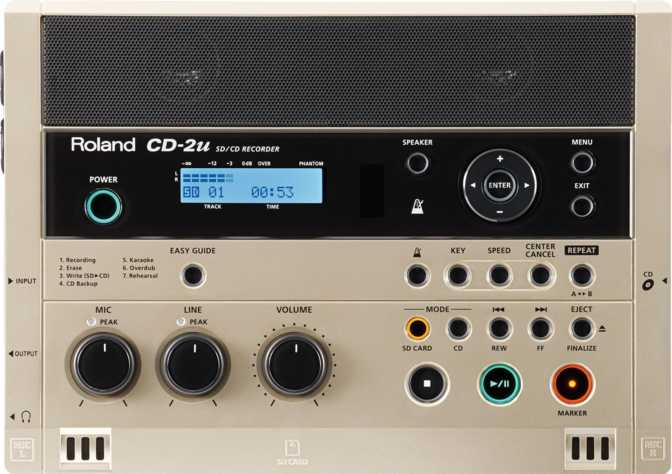 Roland SD/CD Recorder