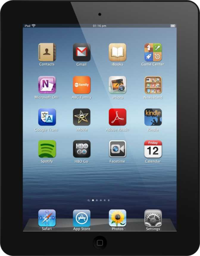 Apple iPad 4 with WiFi + Cellular