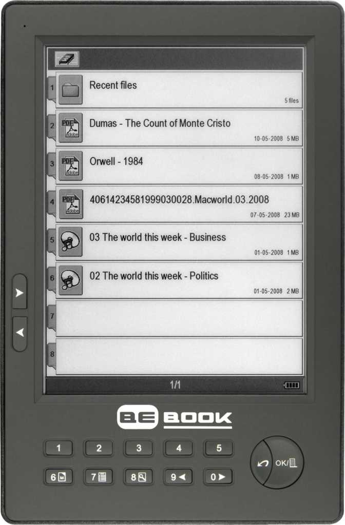 BeBook One 2010