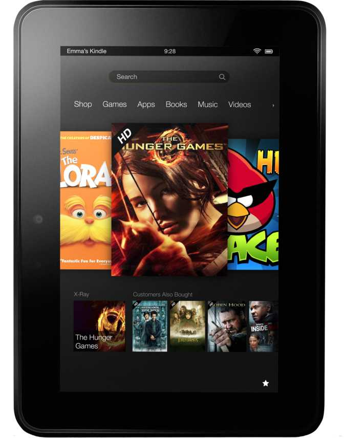 "Kindle Fire HD 8.9"" 64GB"