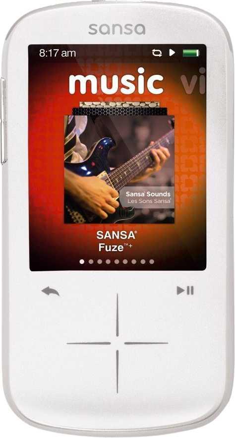 SanDisk Sansa Fuze+ 16GB