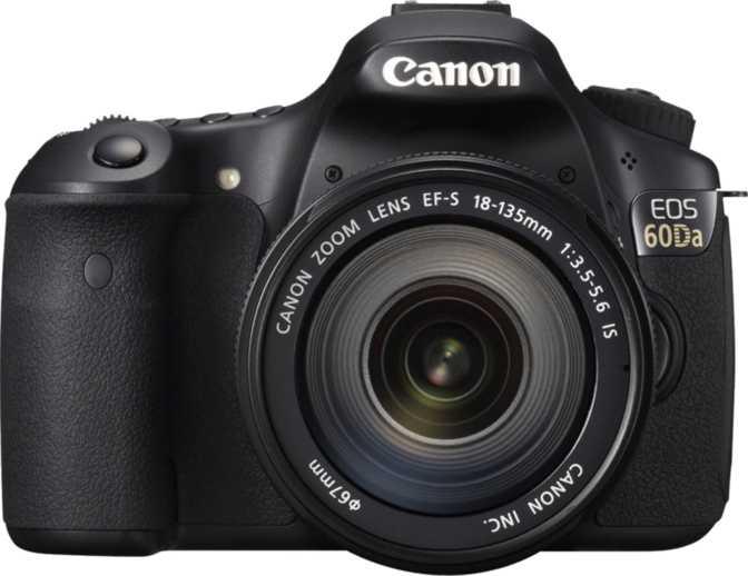 Canon EOS 60Da + Canon EF-S 18-135mm