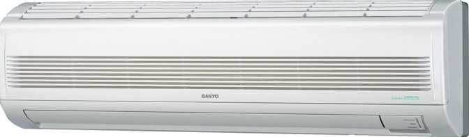 Sanyo Wall Mounted Heat Pump- 24KHS72 KHS2472