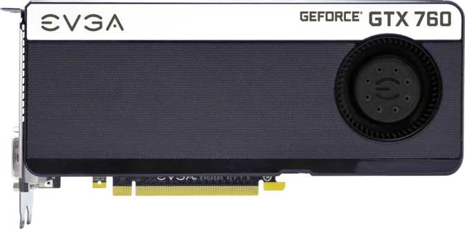 EVGA GeForce GTX 760 4GB