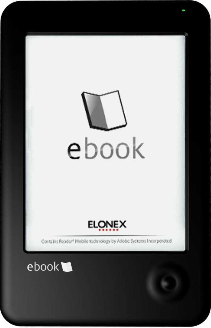 Elonex eInk 621EB eBook