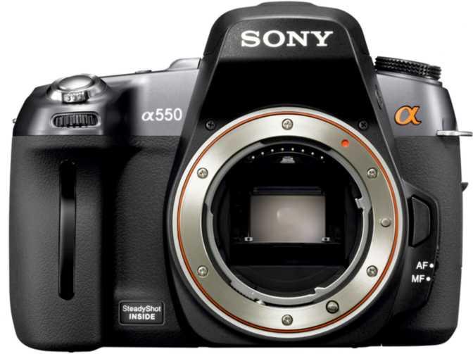 Sony A550 DSLR