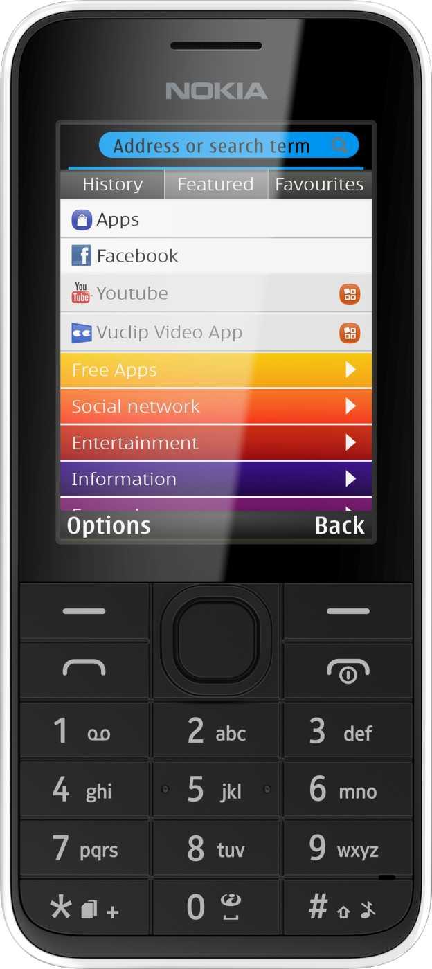Nokia 208 Dual-SIM