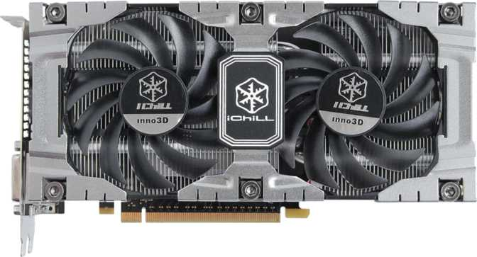 Inno3D GeForce  iChill GTX 650 Ti Boost HerculeZ 2000 2GB
