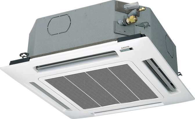 Sanyo Ceiling Recessed Air Conditioner 26XW72R