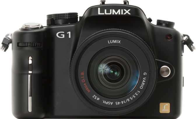 Panasonic Lumix DMC-G1 + Lumix G Vario 14-45mm